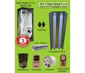 KIT 3 - DARK STREET V3 60X60X150 PROPAGATOR 2X55W