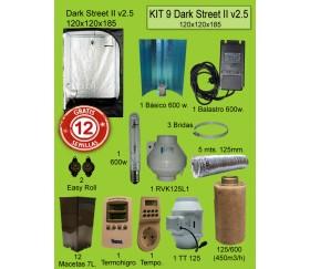 KIT 9 - DARK STREET V3 120X120X185 600W