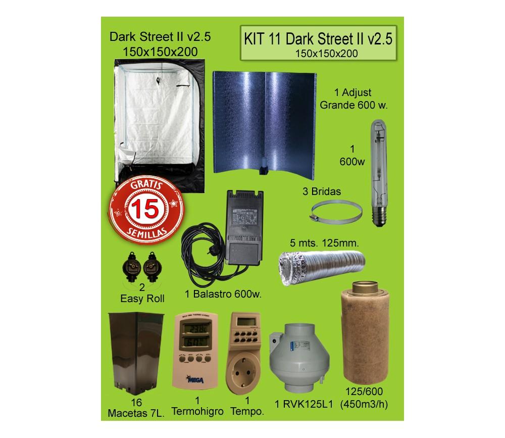 KIT 11 - DARK STREET V3 150X150X200 600W