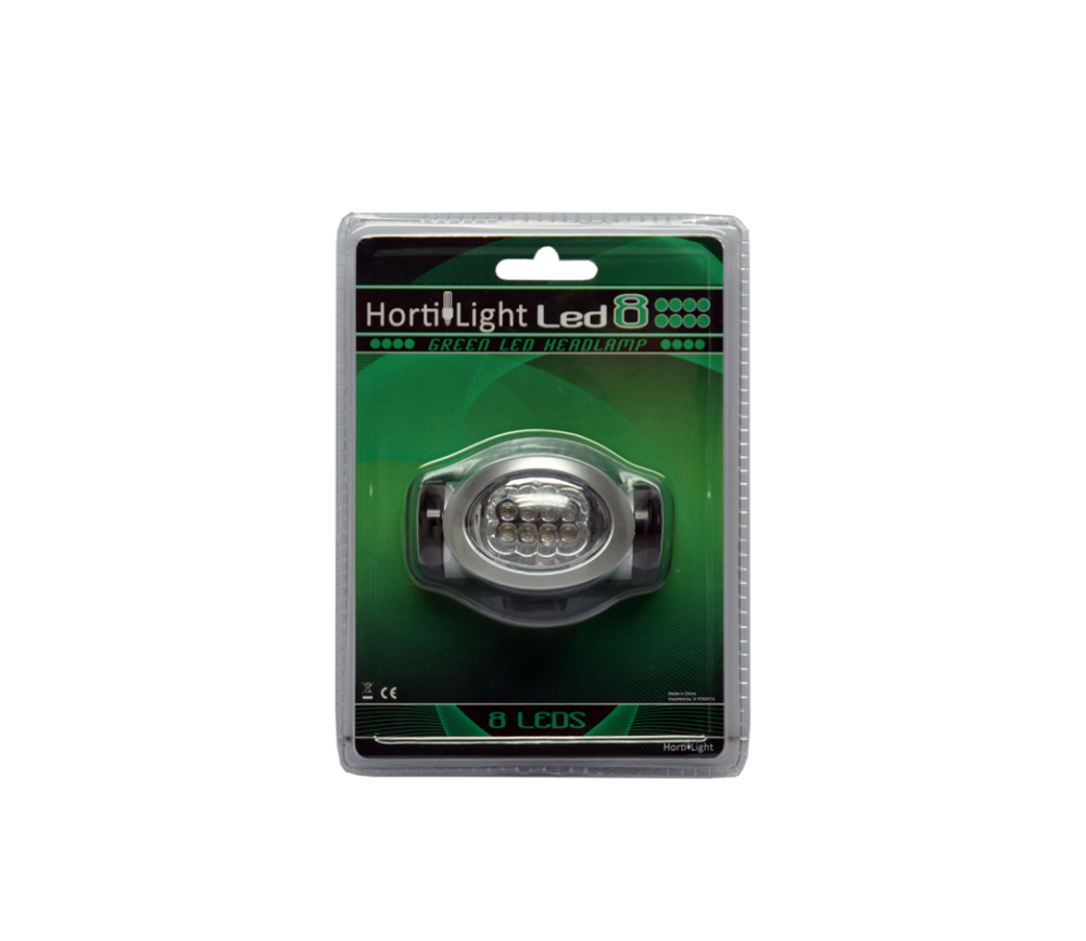 GREEN LED HEADLAMP - FRONTAL LUZ VERDE