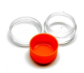 Caja de plástico para BHO con funda interior de silicona