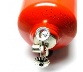 Extintor automático 3 Kg con soporte