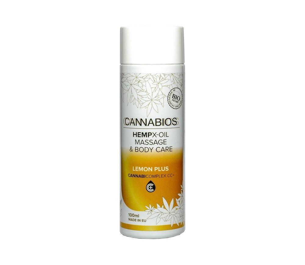 Cannabios aceite de masaje