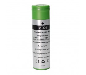 Batería VTC6 3000 mAh