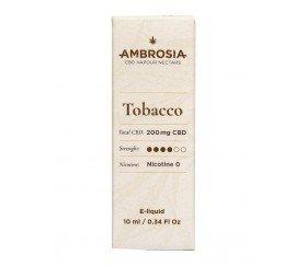AMBROSÍA CBD E-LIQUID SABOR TABACO
