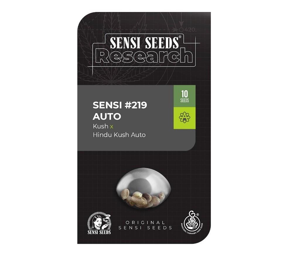 Sensi 219 Auto - Sensi Research