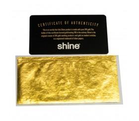 Papel de fumar de oro 24k Shine