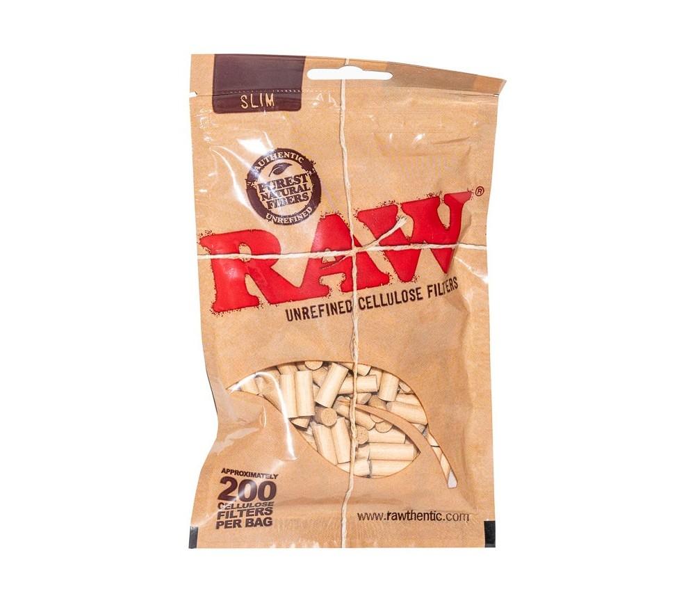 Filtros Raw Slim de Celulosa