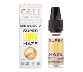 E-LIQUID CBD SUPER LEMON HAZE CALI TERPENES