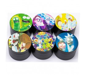 Grinder Rick y Morty 50mm 4 partes