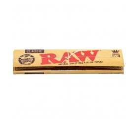 Papel Raw Classic King Size Slim
