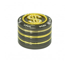 Grinder Metal Dollar Diamond 50mm 4 Partes