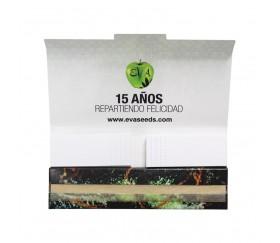 Papel de fumar Eva Seeds 15 Aniversario