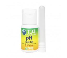 Kit Medidor de pH Reactivo - Terra Aquatica