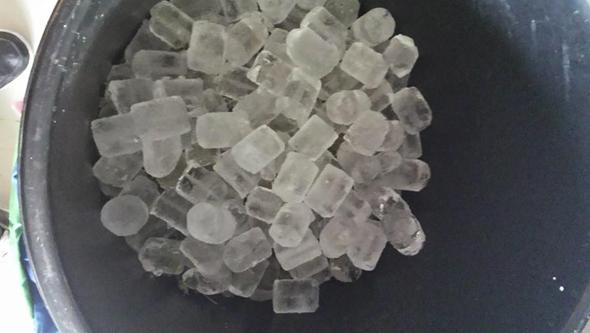 Durante todo el proceso Iceolator Water Hash hay que mantener la marihuana congelada