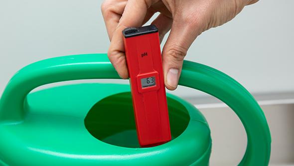 medir ph agua