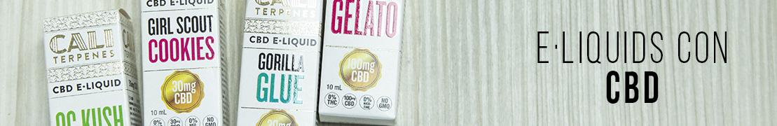 Catálogo de e-liquids CBD