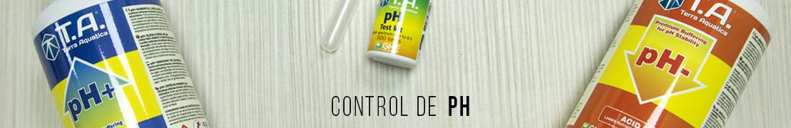control ph agua
