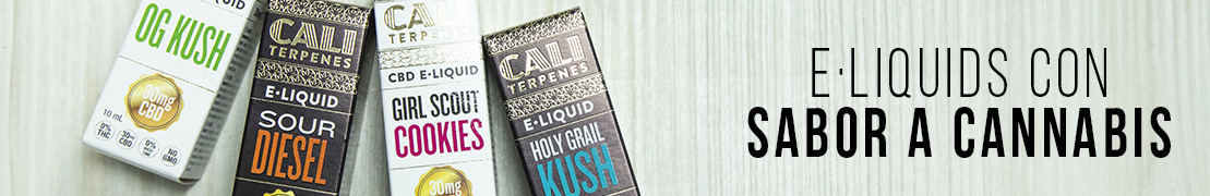 Eliquids con sabores a cannabis