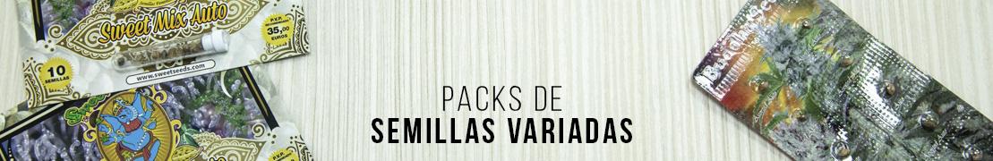 Packs semillas variadas