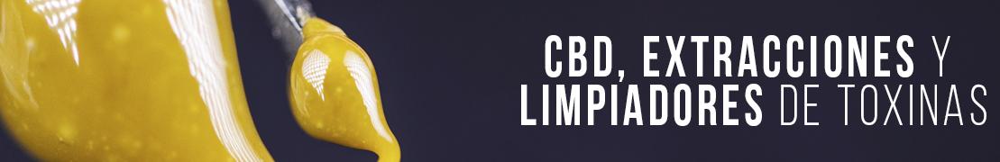 Productos de CBD y extracciones